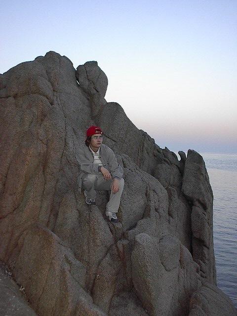 을왕리 해수욕장, 바닷가의 바위 2