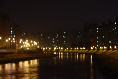 중랑강..