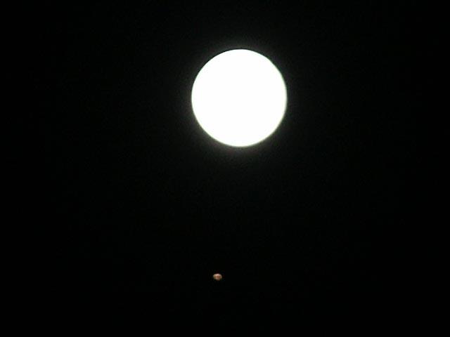달과 화성