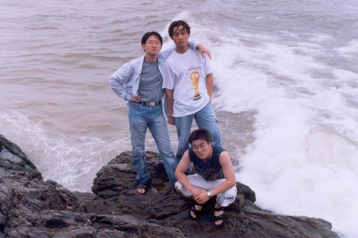 장수클럽 2003 하계 전지훈련, 삼척으로.